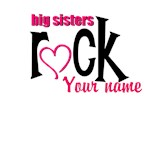 Big Sisters Rock Personalized