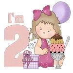 2nd birthday girl