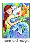 MERMAID AND CAT FISH No. 6