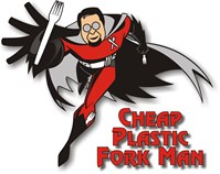Cheap Plastic Fork Man