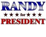 RANDY for president