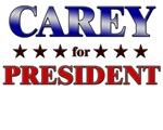 CAREY for president