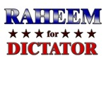 RAHEEM for dictator