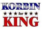 KORBIN for king