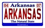 Arkansas License Plate (Arkansas)