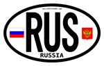 Russia Country Oval