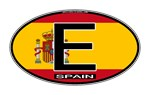 Spain Colors Oval