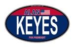 Keyes RW&B Oval