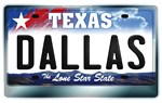Copy of Texas License Plate [DALLAS]