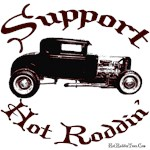 SUPPORT HOT RODDIN