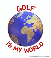 Golf is my World