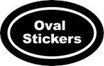 Euro (Oval) Stickers