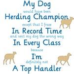Herding Top Handler