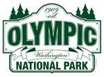 Olympic National Park Sign Design