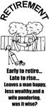 PONDERING RETIREMENT