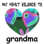 MY HEART BELONGS TO GRANDMA