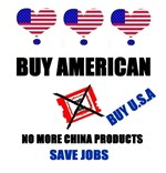 NO MORE CHINA PRODUCTS