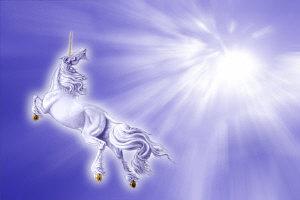 Unicorn into the Light by Marc Brinkerhoff