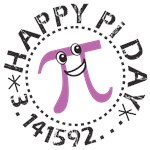 Happy Pi Day Tees, Buttons, Gifts