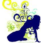 Blue Silhouette Design