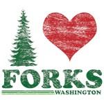I Love Forks WA Distress