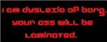 Dyslexia of Borg