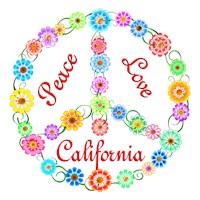 <b>PEACE LOVE CALIFORNIA</b>