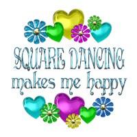 <b>SQUARE DANCING HAPPINESS</b>
