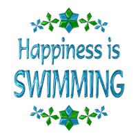 <b>HAPPINESS IS SWIMMING</b>