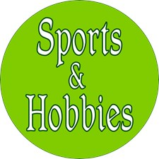 <b>SPORTS and HOBBIES</b>