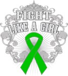 Kidney Cancer Fight Like A Girl Shirts