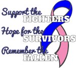 Male Breast Cancer Support Hope Remember Shirts