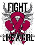 Multiple Myeloma Ultra Fight Like A Girl Shirts