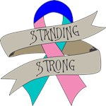 Thyroid Cancer Standing Strong Shirts