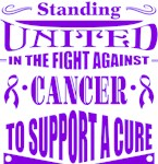 Pancreatic Cancer Standing United Shirts