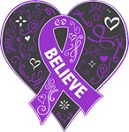 Pancreatic Cancer Believe Shirts