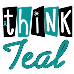 Think Teal Ovarian Cancer T-Shirts & Gifts