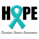 Hope Ovarian Cancer T-Shirts & Gifts