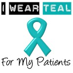 I Wear Teal For My Patients