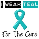 I Wear Teal For The Cure
