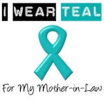 I Wear Teal For My Mother-in-Law
