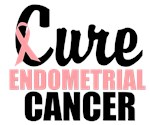 Cure Endometrial Cancer Awareness T-Shirts