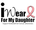 Endometrial Cancer (Daughter) T-Shirts