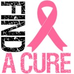 Find A Cure Breast Cancer Awareness T-Shirts