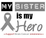 Brain Cancer Hero (Sister) T-Shirts & Gifts