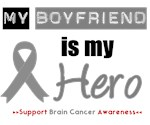 Brain Cancer Hero (Boyfriend) T-Shirts & Gifts