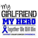 Colon Cancer Hero Girlfriend Shirts & Gifts