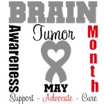 Brain Tumor Awareness Month T-Shirts & Apparel