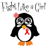 AIDS Fight Like A Girl Shirts and Gifts