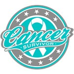 Ovarian Cancer Survivor Sporty T-Shirts & Gifts